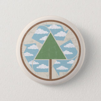 Recycle - Tree -2 Button