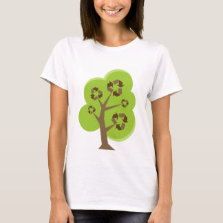 Recycle Tree Green T-Shirt