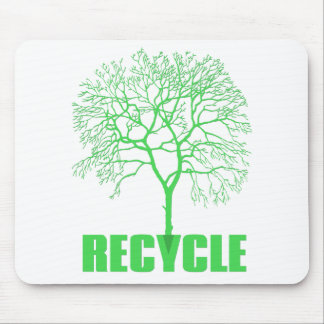 Recycle Tree Mouse Pad