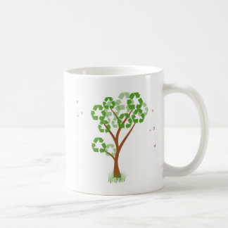 Recycle Tree mug