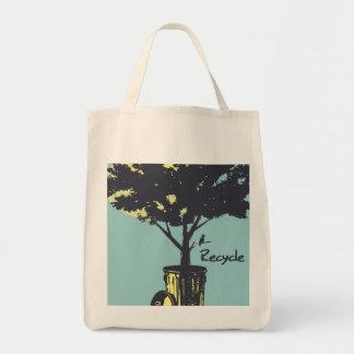 Recycle Tree Organic Tote bag