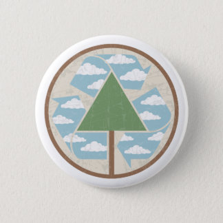 Recycle Tree & Sky Button