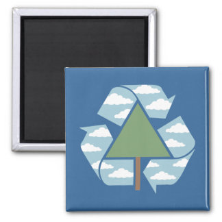 Recycle Tree & Sky Magnet