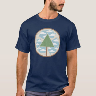 Recycle Tree & Sky T-Shirt