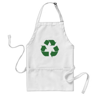 Recycle Triangle Adult Apron