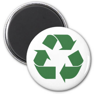 Recycle Triangle Magnet