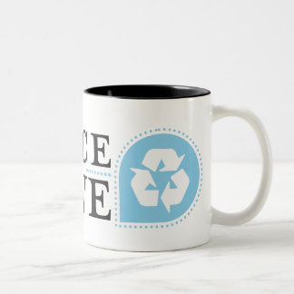 Recycle Two-Tone Coffee Mug