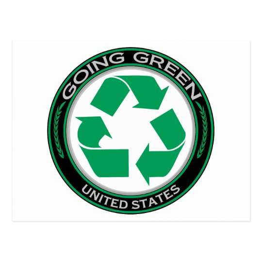 Recycle United States Postcard