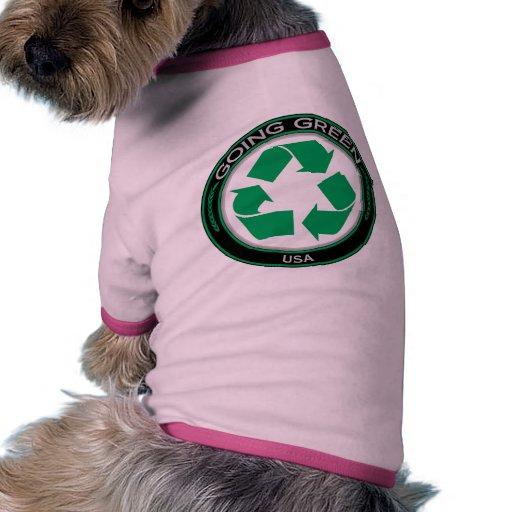 Recycle USA Doggie Tshirt