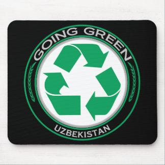 Recycle Uzbekistan Mouse Pad
