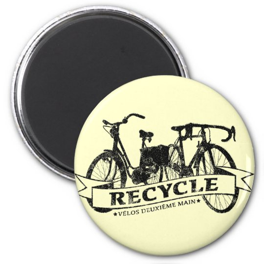 Recycle Velos ReBicycle Magnet