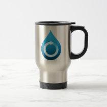 Recycle water travel mug