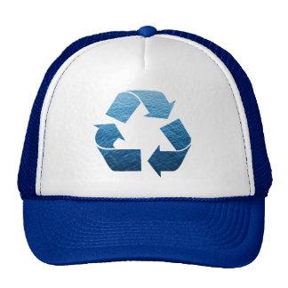 Recycle Water Trucker Hat