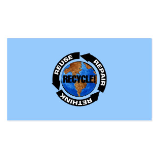 Recycle World Double-Sided Standard Business Cards (Pack Of 100)