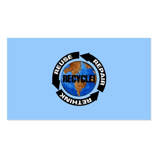 Recycle World Business Card