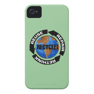 Recycle World Blackberry Case