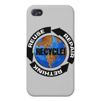 Recycle World iPhone 4 Cases