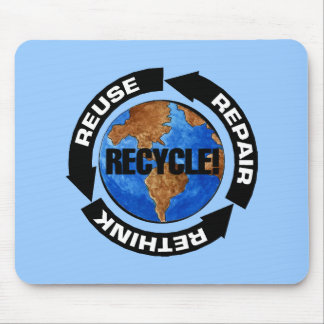 Recycle World Mouse Pad