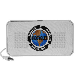 Recycle World Travel Speaker