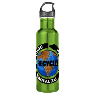 Recycle World Water Bottle