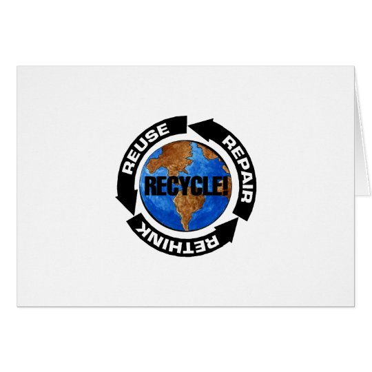 Recycle Worldt Card