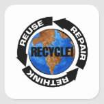 Recycle Worldt Stickers