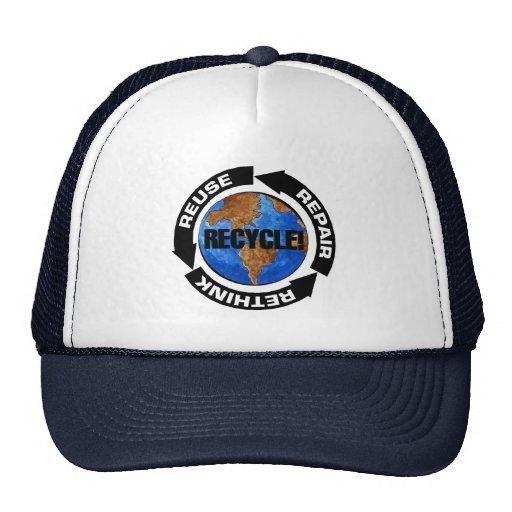 Recycle Worldt Trucker Hat