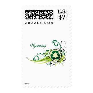 Recycle Wyoming Postage