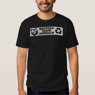 recycle-your-animals shirt