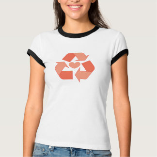 Recycle Your Love Women's Ringer T-Shirt