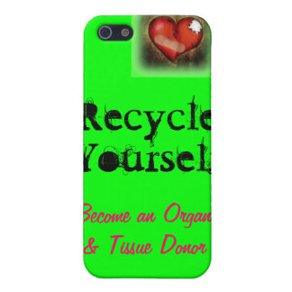 Recycle Your Parts Cover For iPhone SE/5/5s