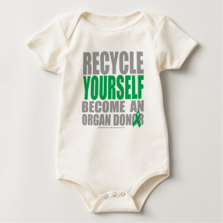 Recycle Yourself Organ Donor Baby Bodysuit