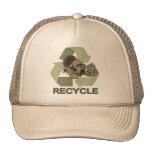Recycle Zombie Trucker Hats