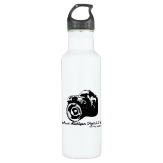 Recycled Aluminum - Color: Pure Stainless Steel Water Bottle