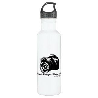 Recycled Aluminum - Color: Saffron Water Bottle
