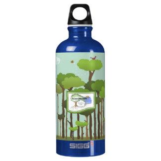 Recycled Aluminum Terra Bella Water Bottle-Trees SIGG Traveler 0.6L Water Bottle