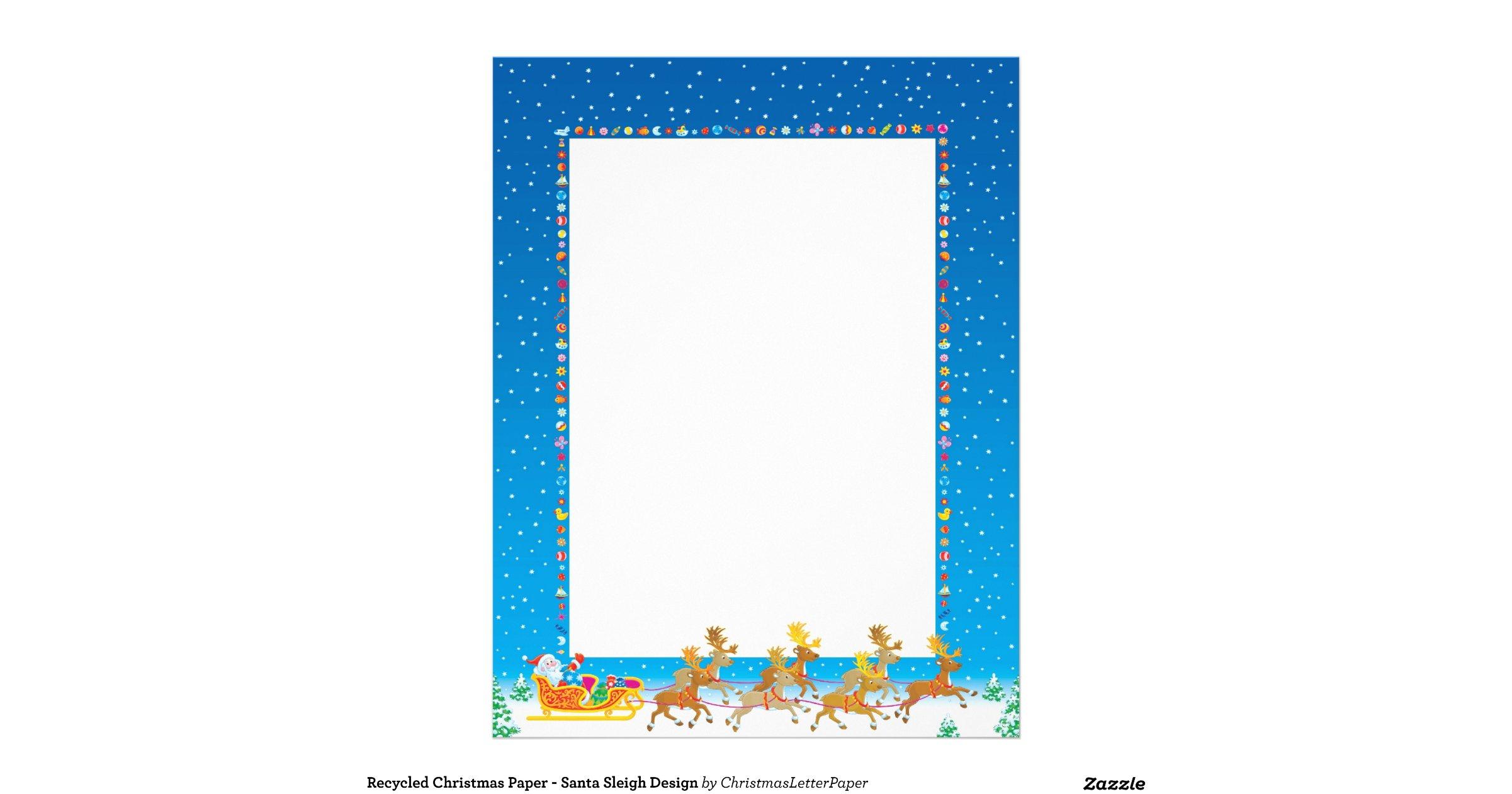 recycled_christmas_paper_santa_sleigh_design_letterhead-r092842e69c5f4435a0dacf9e8ef32da5_vg6ra ...
