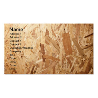 Recycled Compressed Wood Texture For Background Business Card