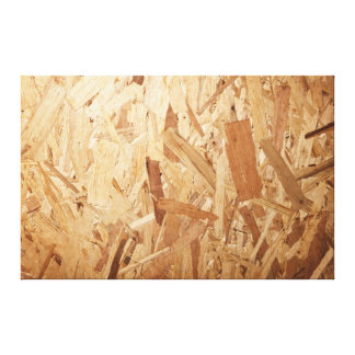 Recycled Compressed Wood Texture For Background Canvas Print