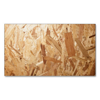 Recycled Compressed Wood Texture For Background Magnetic Business Card