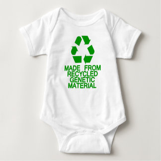 Recycled Genetic Material Baby Bodysuit