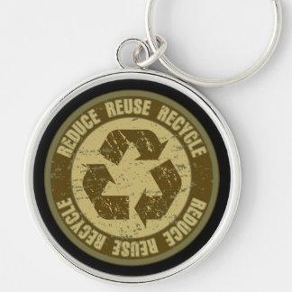 Recycled Grunge Keychain