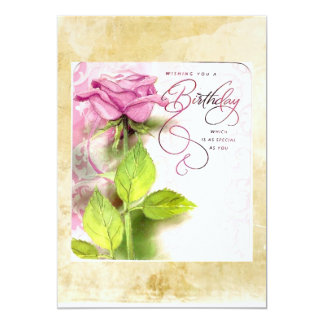 Recycled Happy Birthday Greeting Cards & Invites