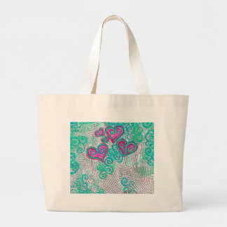 Recycled Hearts Bag