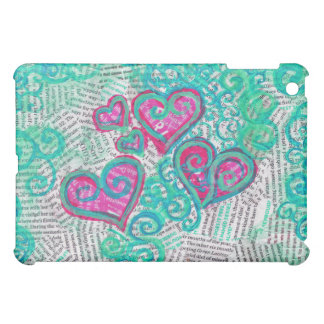 Recycled Hearts case iPad Mini Covers