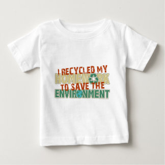 Recycled Homework Baby T-Shirt