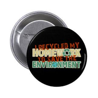 Recycled Homework Button