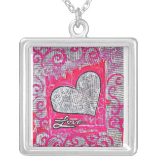 Recycled Love Necklace