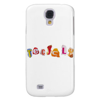 Recycled Magazine Cutouts Galaxy S4 Case