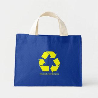 Recycled Mini Tote Bag